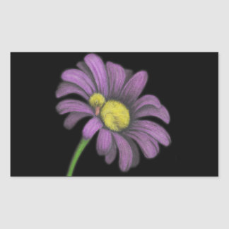 Time for snoozes my little flower. rectangular sticker