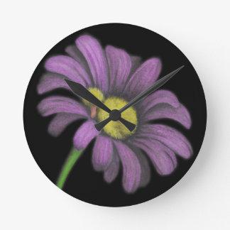 Time for snoozes my little flower. round wallclock