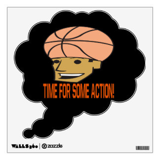 Time For Some Action Wall Sticker
