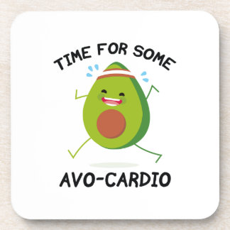 Time For Some Avo-Cardio Beverage Coaster