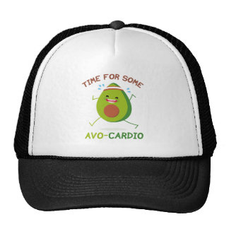 Time For Some Avo-Cardio Trucker Hat
