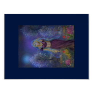 Time for Spring Fairy Poster Print