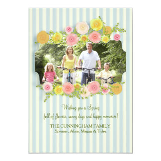 Time For Spring Photo Card