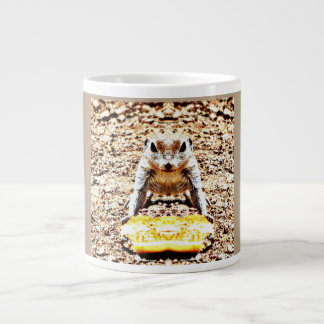 Time for Sunday Pancakes Ground Squirrel Large Coffee Mug