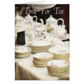 Time For Tea #2 Greeting Card