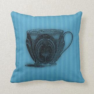 Time for Tea #3 Teacup Throw Pillows