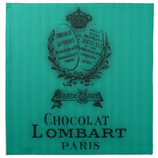 Time for Tea #4 Chocolat Cloth Napkin