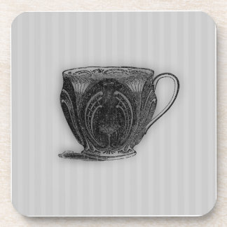 Time for Tea #5 Teacup Beverage Coaster