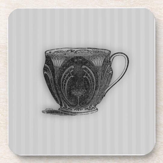 Time for Tea #5 Teacup Beverage Coaster