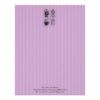 Time for Tea #6 Letterhead