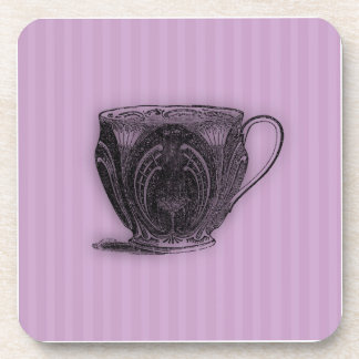 Time for Tea #6 Teacup Beverage Coaster