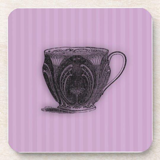 Time for Tea #6 Teacup Beverage Coaster