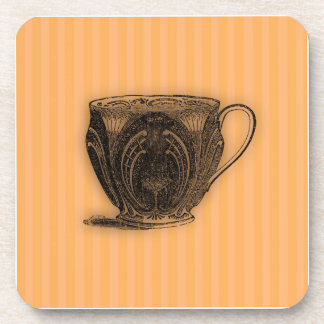 Time for Tea #7 Teacup Beverage Coaster