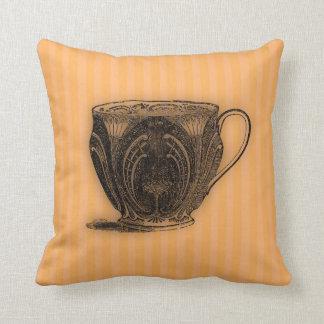 Time for Tea #7 Teacup Throw Pillow