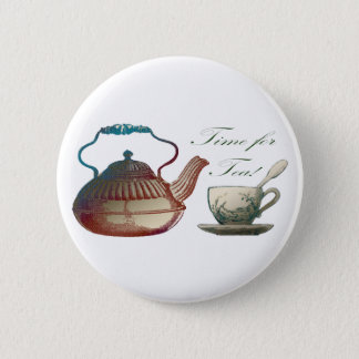 Time for Tea Button