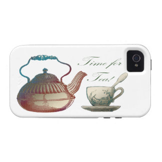 Time for Tea Vibe iPhone 4 Cases