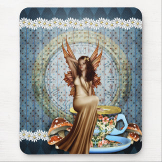 Time for Tea Fairy Mouse Pad