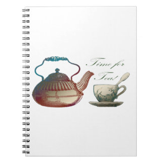 Time for Tea Notebooks