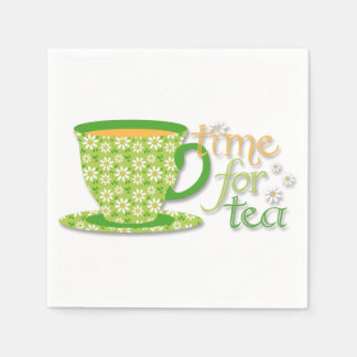 Time For Tea Paper Napkins