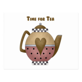 Time for Tea Post Cards