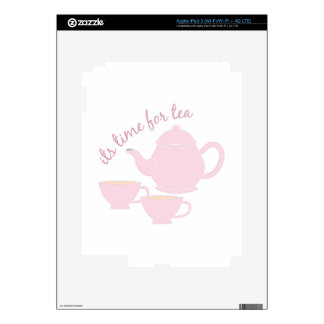 Time For Tea Skins For iPad 3