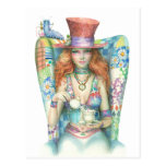 Time for Tea, The Mad Hatter Postcard