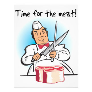 Time For The Meat Flyer