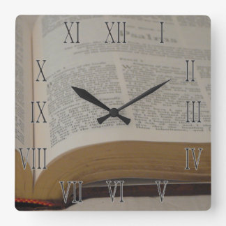 Time for the Psalms Wall Clocks