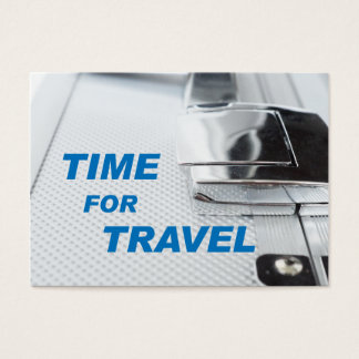 Time for travel business card
