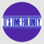 Time for Unity Jumbo Sticker