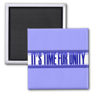 Time for Unity Square Magnet