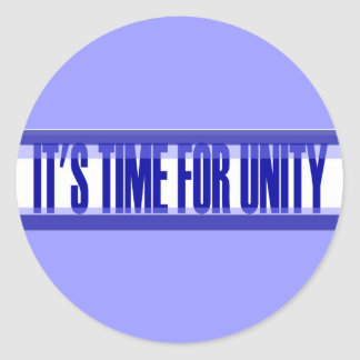 Time for Unity Sticker