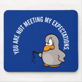 Time for your annual employee performance review mouse pad