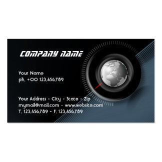Time global business card