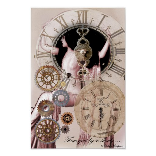 Time goes by so slowly poster