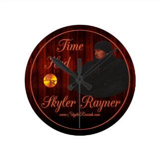 Time Had by Skyler Rayner Round Clock