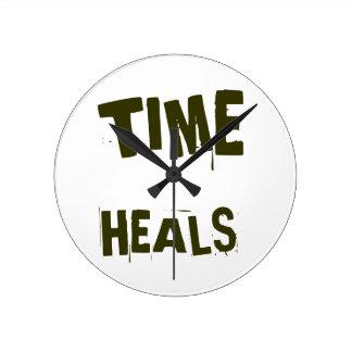 Time Heals Clock