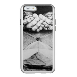 Time hourglass surreal pencil drawing incipio feather® shine iPhone 6 case