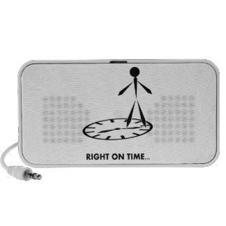 Time Idioms Series - Right on Time Mini Speakers