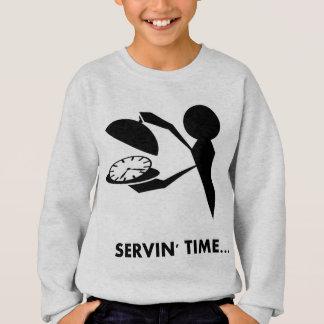 Time Idioms Series - Serving Time Sweatshirt