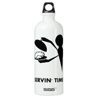 Time Idioms Series - Serving Time Water Bottle