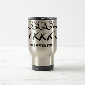 Time Idioms Series - Time after time 15 Oz Stainless Steel Travel Mug
