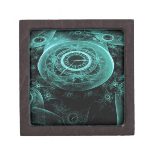 Time in Blue on Black Gift Box