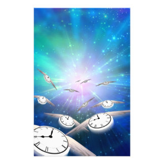 Time in Flight Stationery