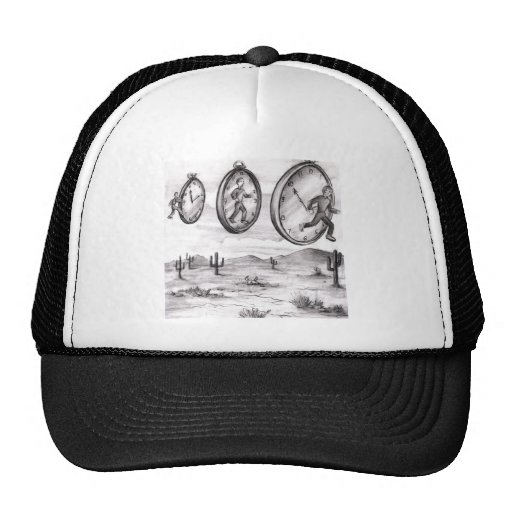 Time Into Out of Time Trucker Hat