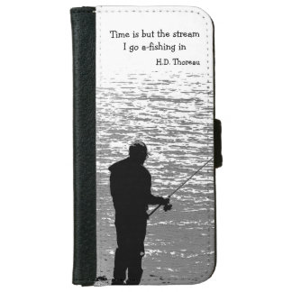 Time is but the Stream iPhone 6 Wallet Case