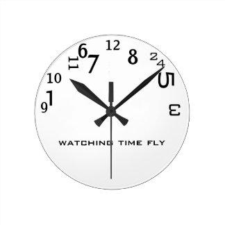 Time is Flying Wallclocks