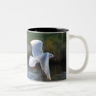 Time is flying Two-Tone coffee mug
