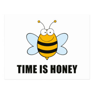 Time Is Honey Postcard