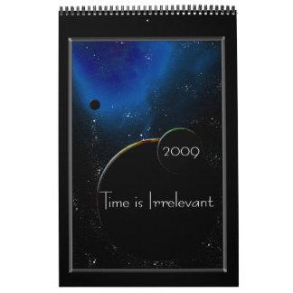 Time is Irrelevant - Customized - Customized Calendar